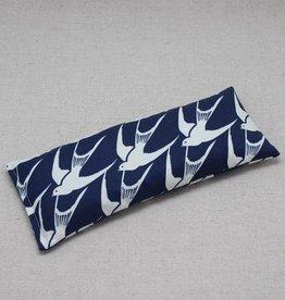 Dana Herbert Accessorries Lavender Eye Pillow Navy Bird