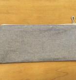 Dana Herbert Accessorries Pencil Bag Silver
