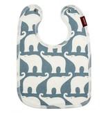 Milkbarn Bib Blue Elephant