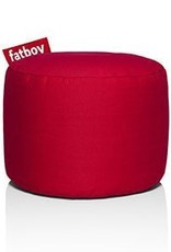 Fatboy Point Stonewashed Pouf Red