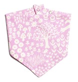 Winter Water Factory Kerchief Bib Woodland Lavender