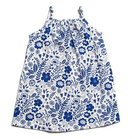 Winter Water Factory Milano Dress Wildflowers Blue