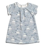 Winter Water Factory Sonora Baby Dress High Seas Navy