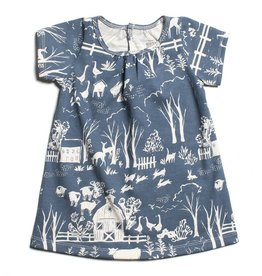 Winter Water Factory Sonora Baby Dress The Farm Next Door Slate