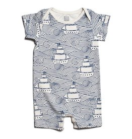 Winter Water Factory Summer Romper High Seas Navy