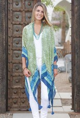 Rockflowerpaper Sahara Green Kimono Scarf