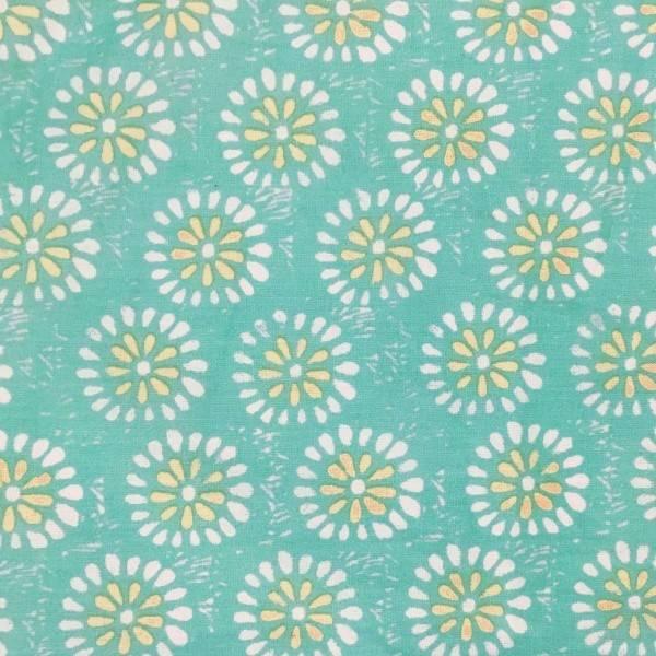 Rockflowerpaper Ronda Ocean Triangle Scarf Cotton