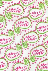 Rockflowerpaper Paisley Pink Triangle Scarf
