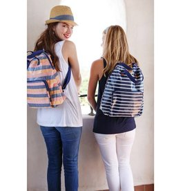 Rockflowerpaper Bateau Stripe Lam Backpack