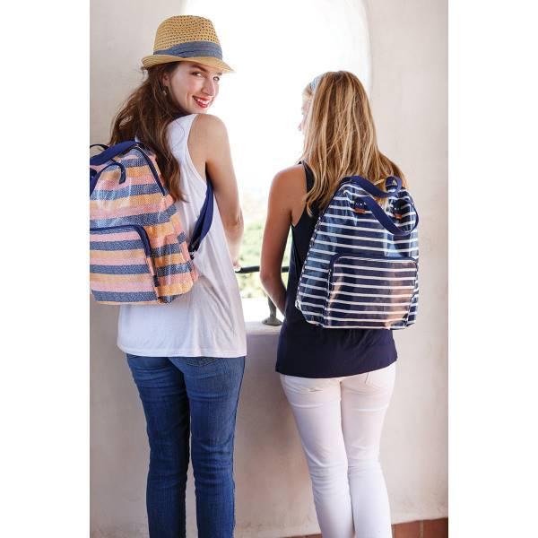 Rockflowerpaper Malibu Pink Lam Backpack