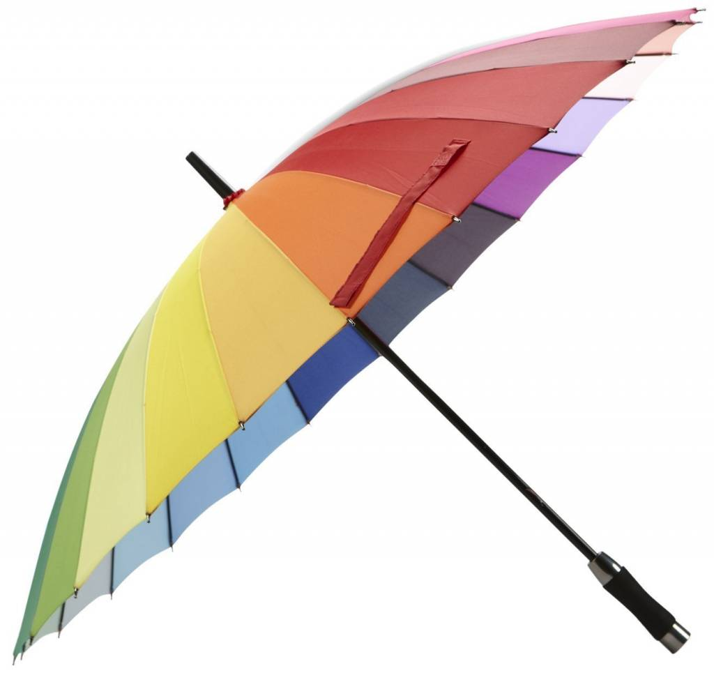 Abbott Rainbow Umbrella