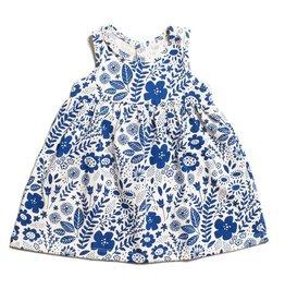 Winter Water Factory Oslo Baby Dress Wildflowers Blue