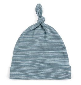 Milkbarn Baby Hat Blue Stripe