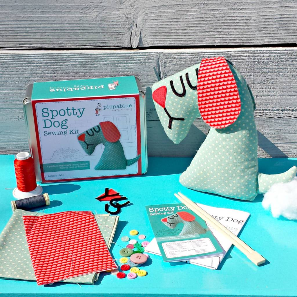 Pippablue Spotty Dog Sewing Kit