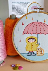 Pippablue Rainy Day Embroidery kit