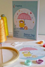 Pippablue Rainy Day Embroidery kit