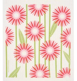 Cose Nuove Swedish Dischcloth Daisies Pink