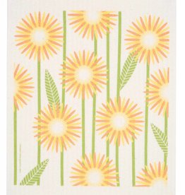 Cose Nuove Swedish Dischcloth Daisies Yellow