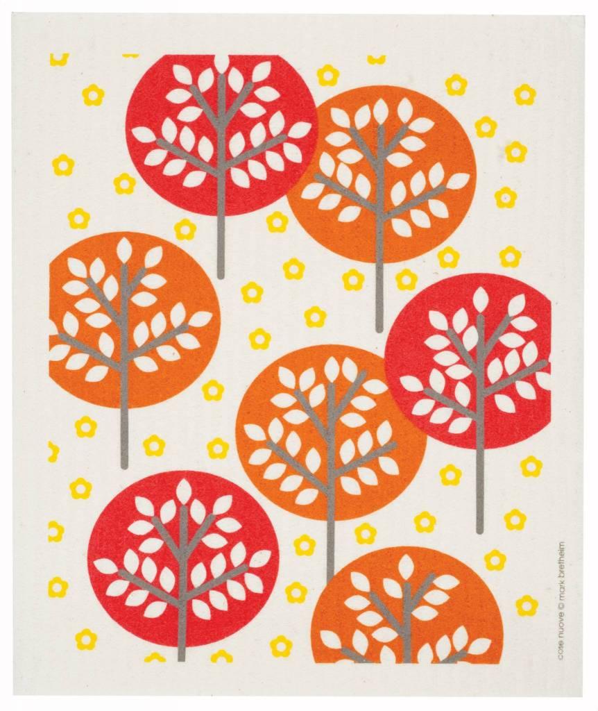 Cose Nuove Swedish Dischcloth Forest Orange