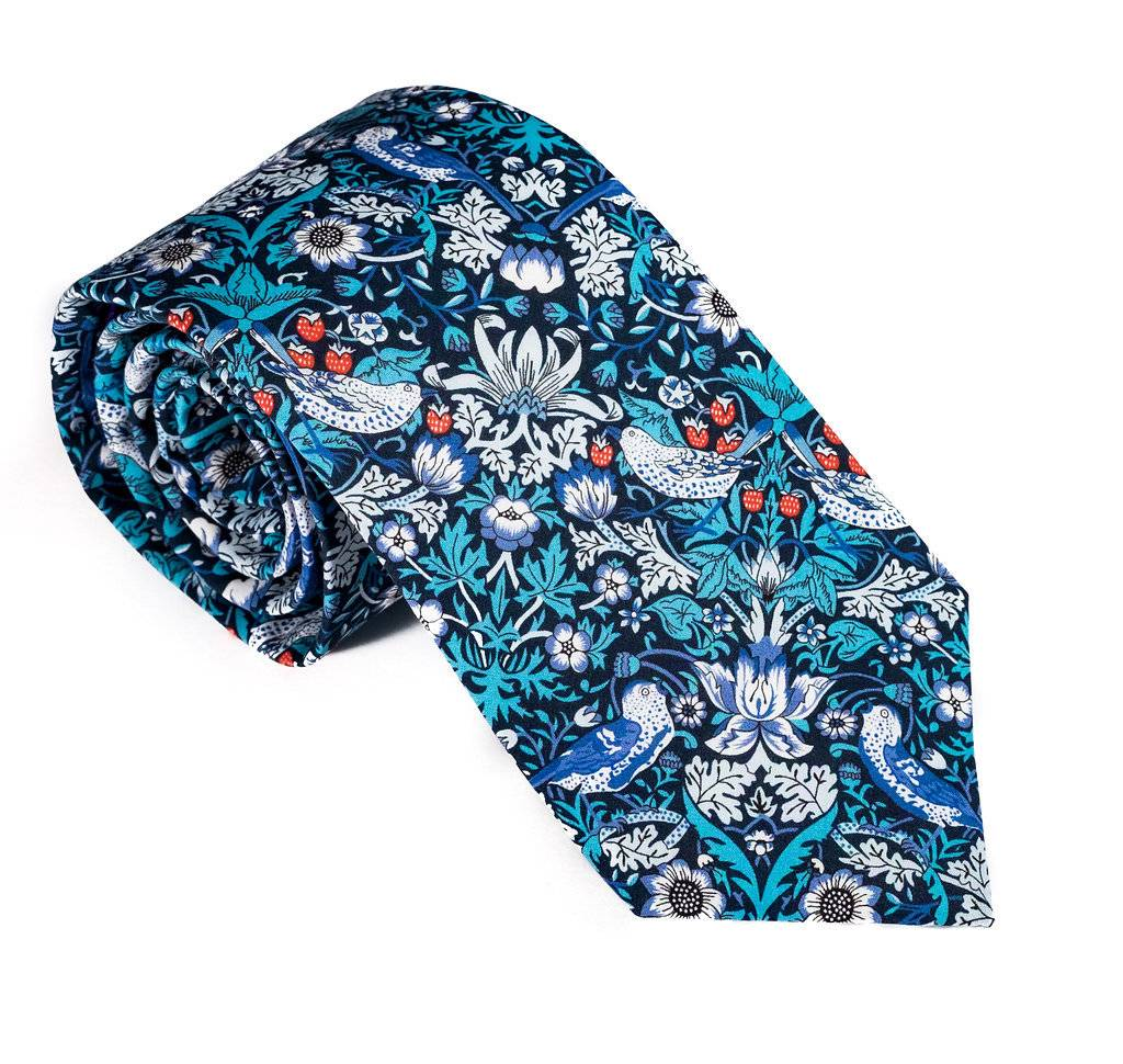 Trumbull Rhodes Necktie Strawberry Fields