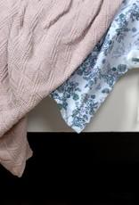 Garbo&Friends Ollie Pink Cotton Blanket