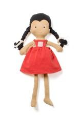 Hazel Village Doll Celia in Strawberry Red Jumper