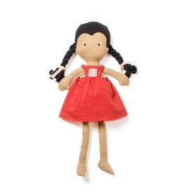 Hazel Village Doll Celia in Strawberry Red Jumper