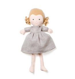 Hazel Village Doll Fern in Linen Dress
