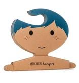 Milkbarn Hanger set Blue Hair