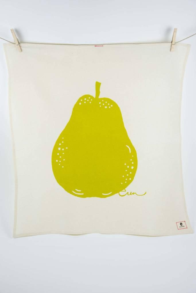 Erin Flett Tea Towel Vintage Green Pear