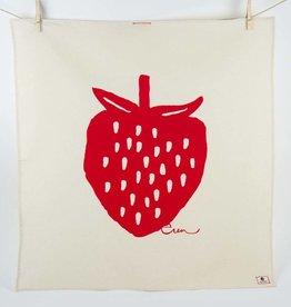 Erin Flett Tea Towel Ruby Strawberry