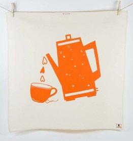 Erin Flett Tea Towel Mango Coffee