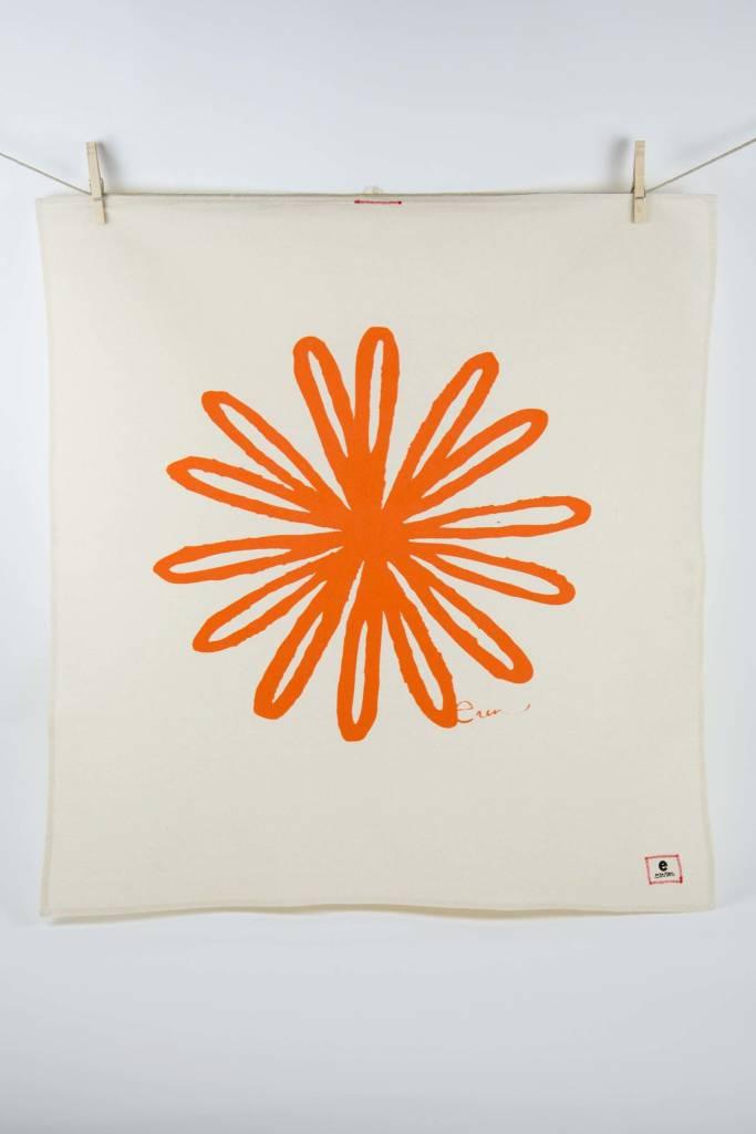 Erin Flett Tea Towel Mango Bloom