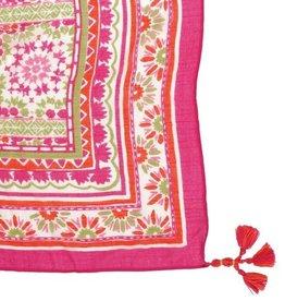 Rockflowerpaper Marrakesh Pink Kimono Scarf