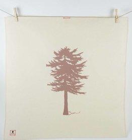 Erin Flett Tea Towel Conifer Raison