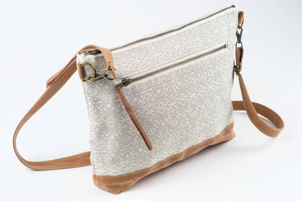 Calliope Crossbody Zip Pocket Sparkle