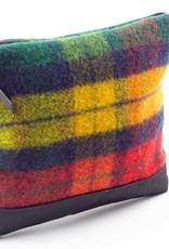 Igneous Folded Clutch 100% Wool Tartan