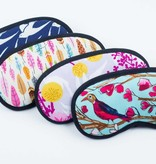 Dana Herbert Accessorries Eye Mask in Feathers
