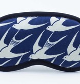 Dana Herbert Accessorries Eye Mask Navy Bird