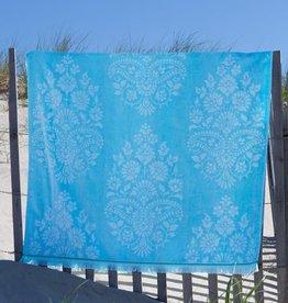 Caro Home Pashmina Beach Towel Turquoise