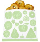 3greenmoms Reusable Gallon Bag Green Fruit (Zippered)