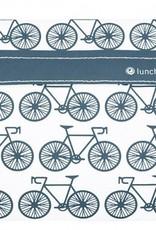3greenmoms Reusable Sandwich Bag Charcoal Bicycle (Velcro)
