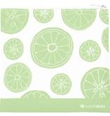 3greenmoms Reusable Sandwich Bag Green Fruit (Zippered)