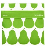 3greenmoms Reusable Sandwich Bag Green Pear (Velcro)