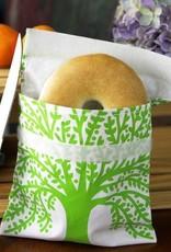 3greenmoms Reusable Sandwich Bag Green Tree (Velcro)
