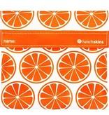 3greenmoms Reusable Sandwich Bag Tangerine (Velcro)