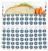 3greenmoms Reusable Sandwich Big Bag Charcoal Bean (Velcro)