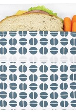 3greenmoms Reusable Sandwich Big Bag Charcoal Bean (Velcro)