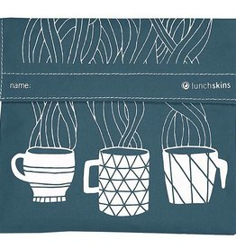 3greenmoms Reusable Quart Bag Charcoal Coffee (Velcro)