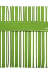 3greenmoms Reusable Sandwich Big Bag Green Stripe (Velcro)
